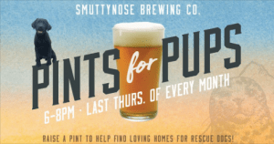 Pints For Pups at Smuttynose Brewing Company