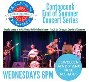 See Some Great FREE Live Music At The Contoocook End of Summer Concert Series