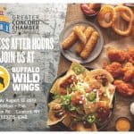 Business After Hours: Join us at the Buffalo Wild Wings hosted by the Greater Concord Chamber of Commerce