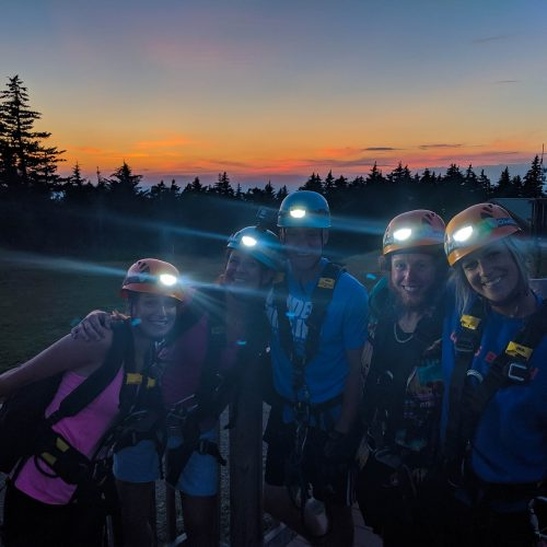 Pump Up Your Adrenaline As You Fly At  65mph In The Dark When You Take This Moonlight Zip Tour