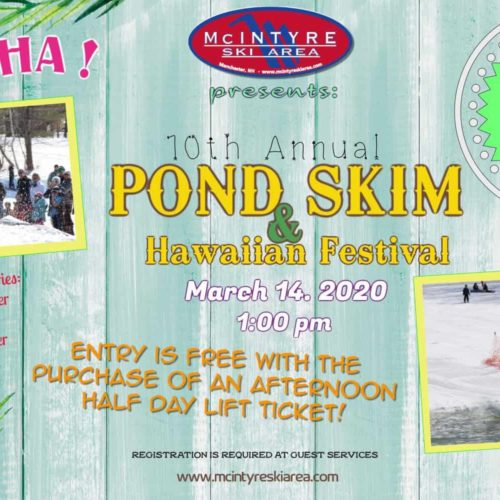 Pond Skim & Hawaiian Festival!