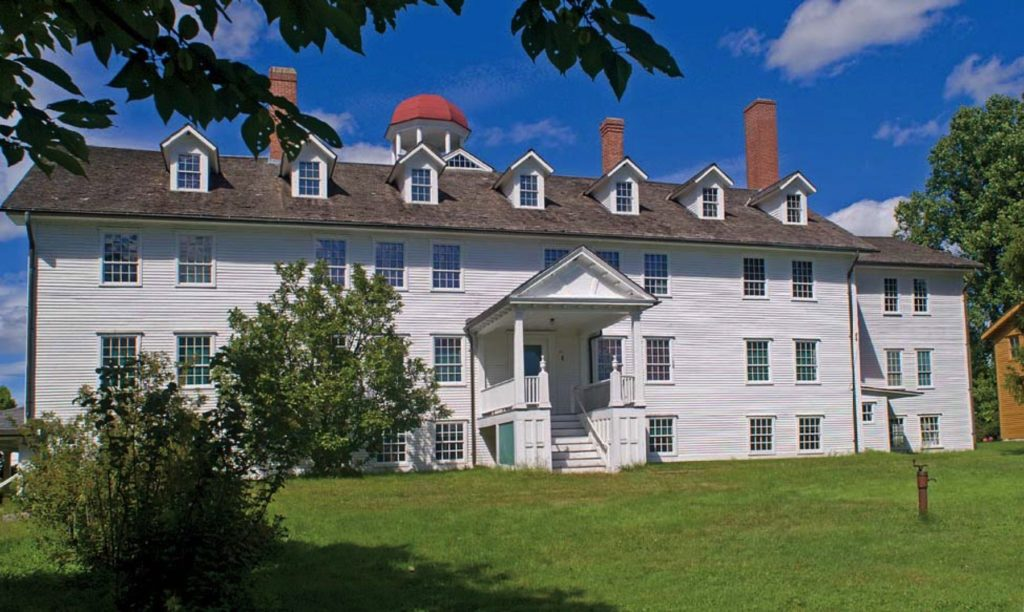 canterbury shaker village historic building
